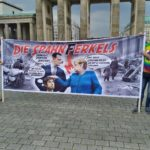 Plakat Demonstration in Berlin