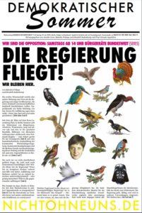 Demokratischer Sommer unabhängige Wochenzeitung