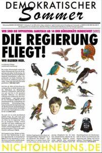 Hier die letzte wirklich unabhängige Wochenzeitschrift in Deutschland für alle die die Zeitung nicht mehr ergattern die PDF zum Download.