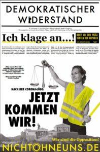 Wochenzeitung Demokratischer Widerstand vom 13.06.2020