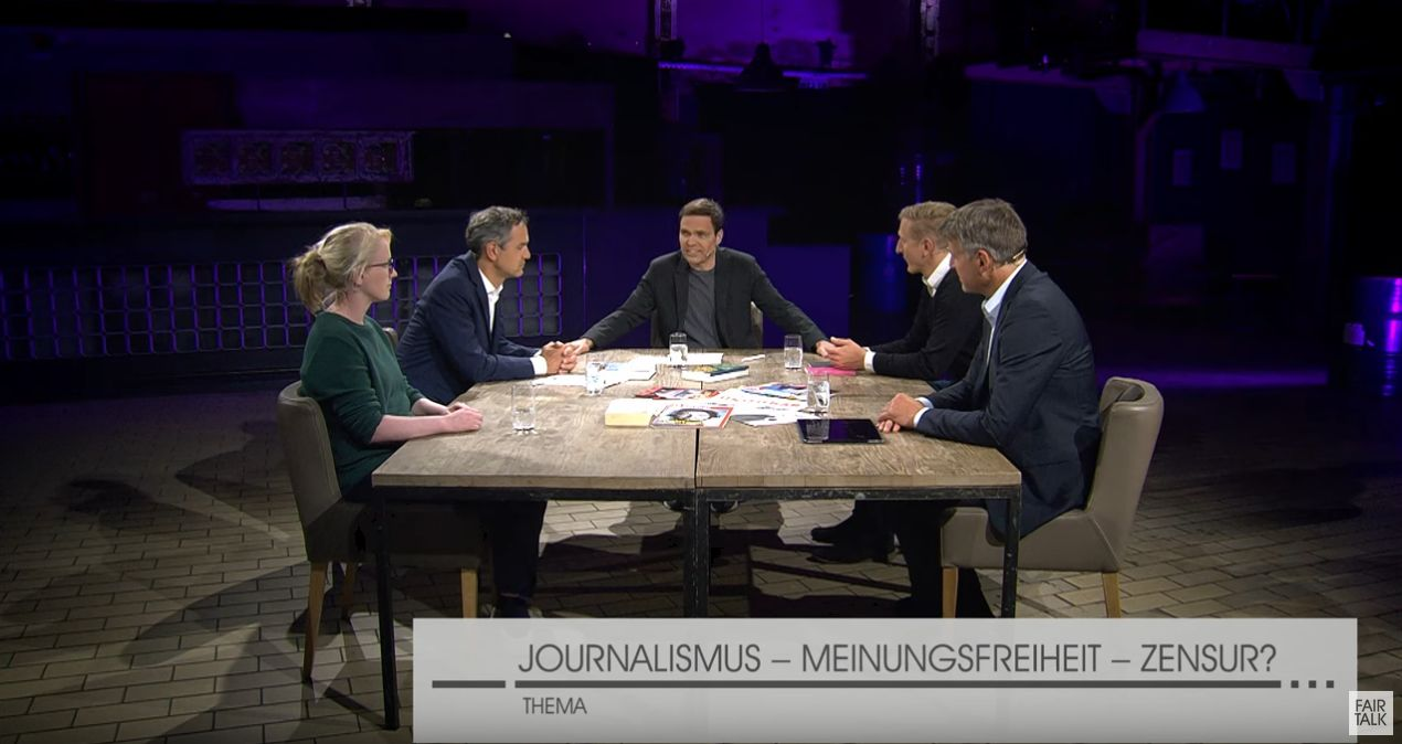 Fair Talk 23.06.2020 Eileen Engelke, Daniele Ganser, Anselm Lenz, Rolf Karpenstein Moderator Jens Lehrich