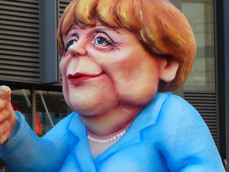 Merkel redet spontan wirres Zeug
