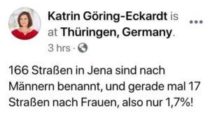 Katrin-Göring-Eckhardt und die Mathematik