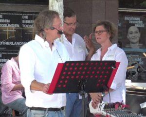 Querdenken-761-Freiburg - Im Gespräch - Diskussion