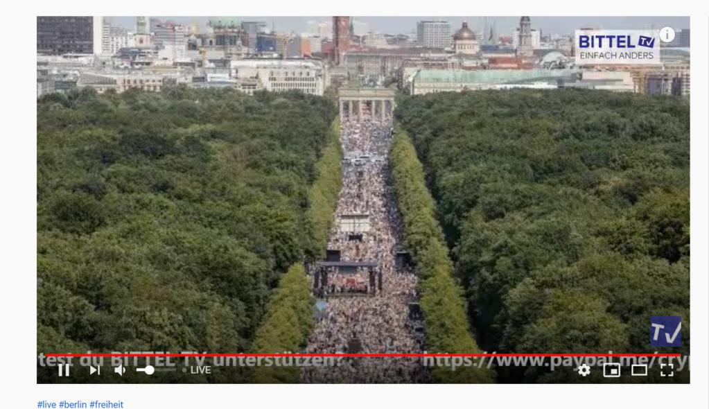 Mega-Demo Berlin Querdenken 1 August