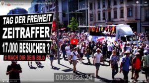 Berlin Demo Zeitraffer 1 August 2020