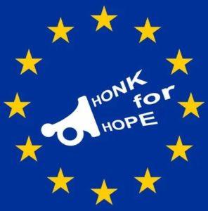 Berlin 29 August Honk for Hope
