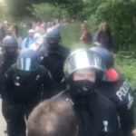 Polizeigewalt bei Querdenken mit 1 Million Teilnehmern in Berlin 1 August