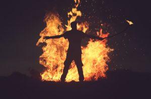 Da brennt etwas lichterloh - die Stimmung kippt