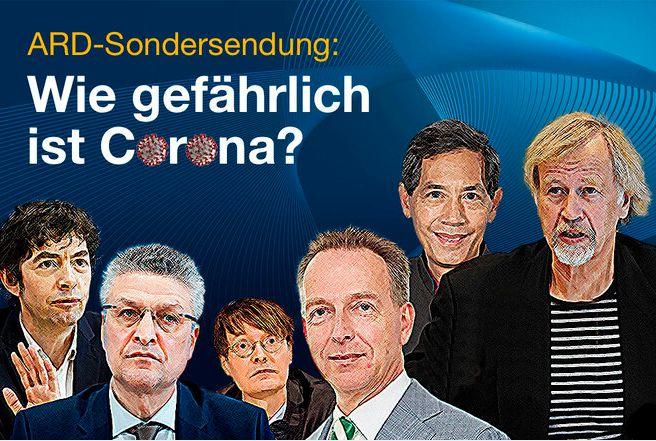 Petition für eine neutrale Berichterstattung in der ARD zum Thema : Wie gefährlich ist Corona