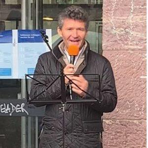 Dr. Horst Müller Rede bei der Demonstration Querdenken Freiburg 10.10.2020