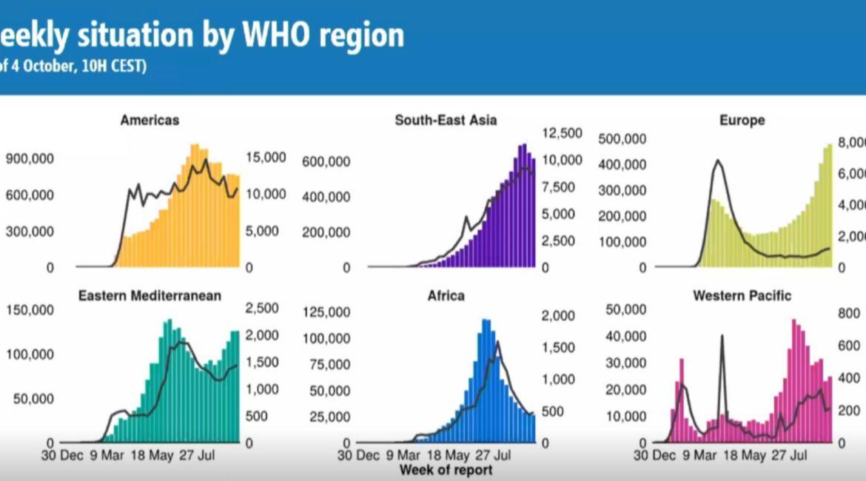 Die Who sagt das 10% der weltweiten Bevplkerung mit Covid 19 infiziert war oder ist